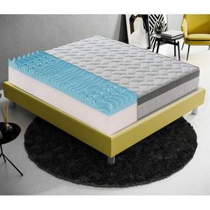 Memory foam Matratze 140x190 mit 9 verschiedenen Bereichen 26 cm hoch - MATERASSIEDOGHE