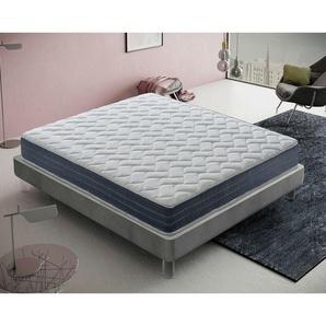 Memory foam Matratze 160x200 Memoryschaum Höhe 22 cm mit 11 Liegezone - MATERASSIEDOGHE