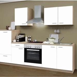 Menke Küchenzeile »Classic«, 270/280/300/310 cm, mit Elektrogeräten, in 2 Farben