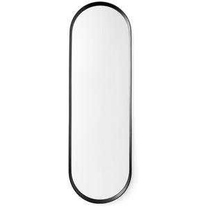 Menu - Norm Wandspiegel oval - schwarz - indoor