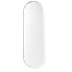 Menu - Norm Wandspiegel oval - weiß - indoor