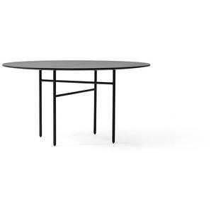 Menu - Snaregade Tisch - schwarz - rund 120cm