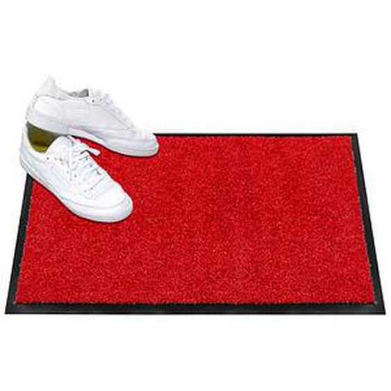 Mercury Fußmatte Wash & Clean karminrot