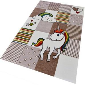 merinos Kinderteppich Diamond Kids21992, rechteckig, 13 mm Höhe B/L: 160 cm x 230 cm, 1 St. beige Kinder Kinderteppiche mit Motiv Teppiche