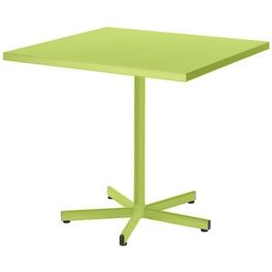 Metalltisch Basic Color Schaffner AG grün, Designer Schaffner, 72x70x70 cm