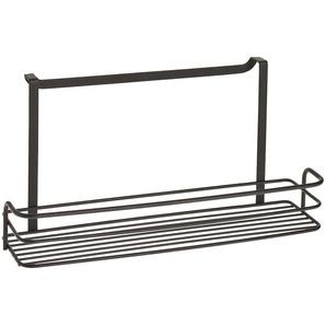 Metaltex Einhängekorb Lava, (1 St.), exclusive TouchTherm Beschichtung Einheitsgröße schwarz Klemmregale Küchenregale und Haushaltsregale Regale