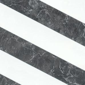 METROPOLIS BY MICHALSKY LIVING Vliestapete Change is good, Modern Marble, Streifen-gestreift, in Marmor Optik B/L: 0,53 m x 10,05 schwarz Vliestapeten Tapeten Bauen Renovieren