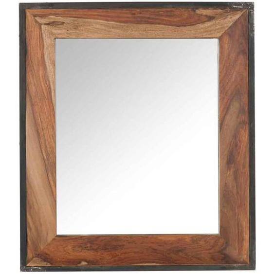 MiaMöbel Spiegel Madras rechteckig Massivholz Sheesham Modern Indien Indisch