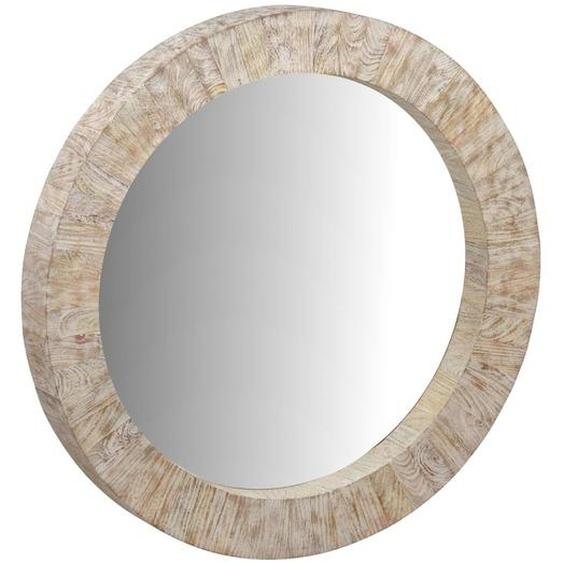 MiaMöbel Spiegel Suri Glas, Massivholz Mango Landhaus Indien Indisch