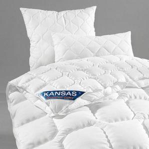 Microfaserbettdecke, »Kansas«, f.a.n. Schlafkomfort, Füllung: Polyesterfaser, Bezug: 100% Polyester, Von Verbrauchern mit 5 Sternen (SEHR GUT) bewertet*