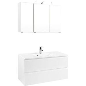 Xora: Badezimmer, Weiß, B/H/T 100 64 47