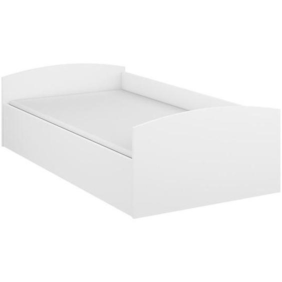 Mid.you Bett in Weiss Weiß , 90 cm