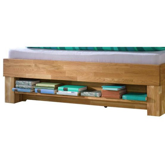 Mid.you Bettregal Mehrfarbig, Braun , Holz , massiv , 1 Fächer , 22x10x73 cm