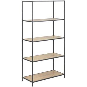 Carryhome: Regal, Holzwerkstoff, Eiche, B/H/T 77 150 35