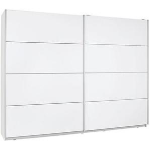 Ti`me: Schwebetürenschrank, Holzwerkstoff, Weiß, B/H/T 270 210 61