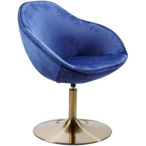 Carryhome: Loungesessel, Blau, B/H/T 70 79 70
