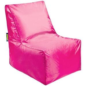 Livetastic: Sitzsack, Pink, B/H/T 60 85 75