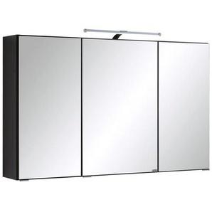 Xora: Spiegelschrank, Glas, Anthrazit, B/H/T 100 64 20