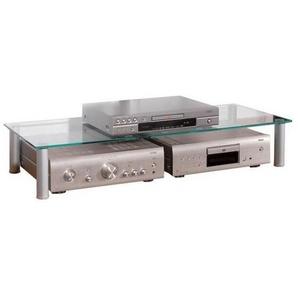 : TV-Aufsatz, Klar, Silber, B/H/T 105 19 42