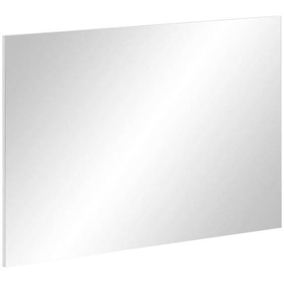 Mid.you Wandspiegel Weiß , Glas , 99.5x69.5x30 cm