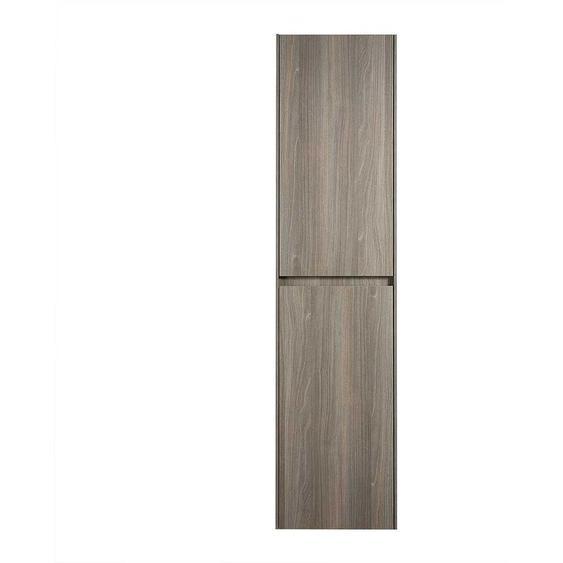 Midibadschrank in Ahorn Grau Nachbildung 40 cm breit