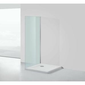 Mineralguss-Duschtasse 90 x 90 x 5 cm - Weiß