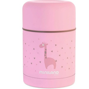 Miniland Thermobehälter Silky Thermo Food 600ml pink