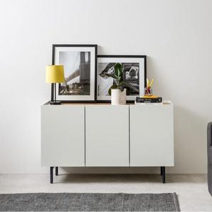 Essentials Mino Sideboard, Eiche und Cremeweiss