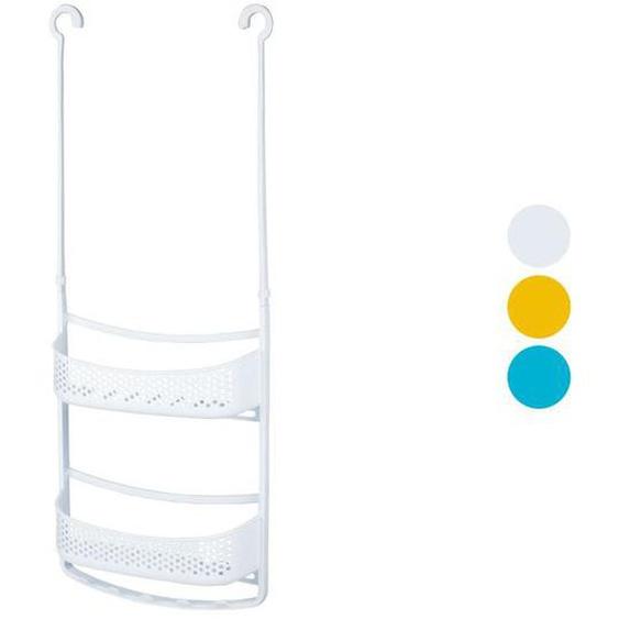 MIOMARE® Kunststoff Duschablage, mit flexiblen Armen