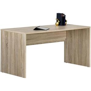 Moderano Jugendschreibtisch Beige , Holzwerkstoff , 68x72 cm