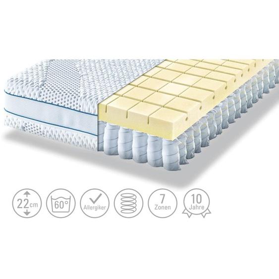 Möve Tonnentaschenfederkern - Matratze  Aqua Top T - weiß | Möbel Kraft