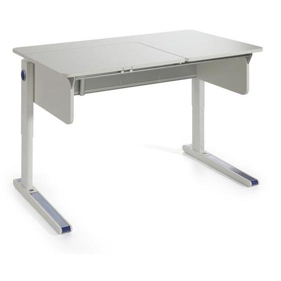 Moll Schreibtisch, Weiß, Kunststoff 120 cm