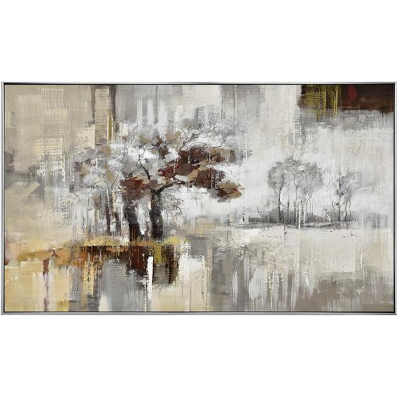 Monee Ölgemälde Abstraktes , Mehrfarbig , Holz, Textil , Kiefer , vollmassiv , 120x70 cm