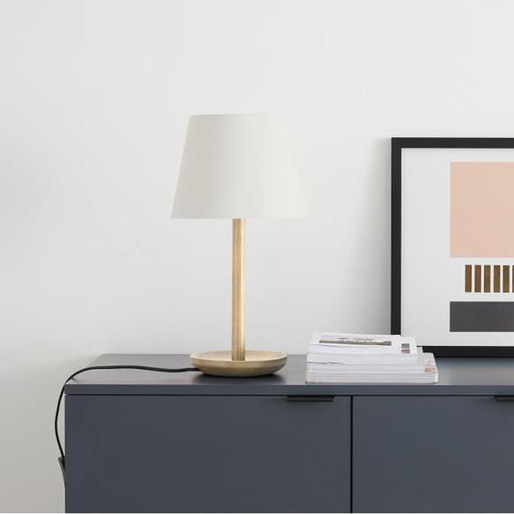 Moore Tischlampe, Esche und Weiss
