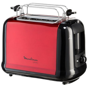 Moulinex Toaster  LT 261D - rot - 17,3 cm - 20 cm - 32,5 cm | Möbel Kraft