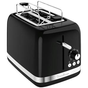 Moulinex Toaster  LT 3018 - schwarz - Edelstahl, Kunststoff - 17,8 cm - 18,7 cm - 28,6 cm | Möbel Kraft