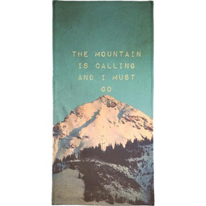 Mountain is calling - Handtuch