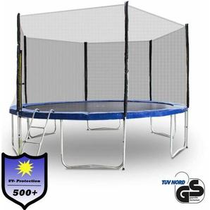 Trampolin 460 Outdoor Gartentrampolin Komplettset 4,60 m 460 cm - MS POINT