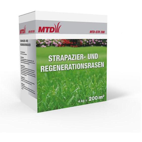 MTD Strapazier- und Regenerationsrasen »MTD-STR 200«, 4 kg, für  200 m² Rasenfläche