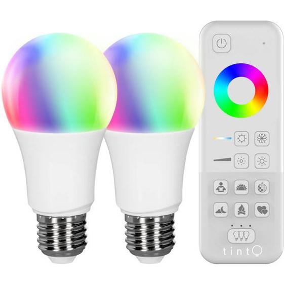 MüllerLicht tint Starter-Set 2x LED-Lampe white+color plus tint-Fernbedienung