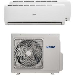 HEIKO Multisplit Wandgerät 1 x 2,6 kW + 1 x 3,5 kW Duo Set EEK: A++/A+