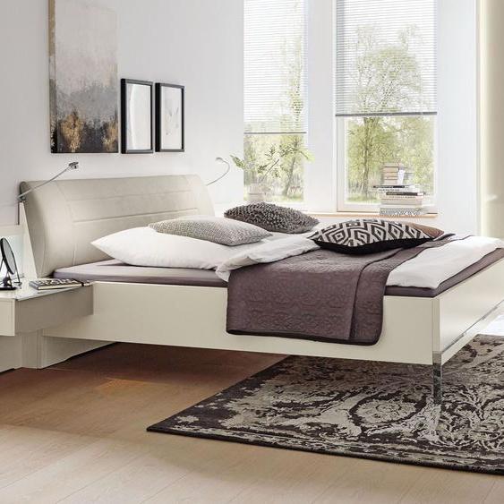 MUSTERRING Bett San Diego Weiß, weiß, 180x200 cm