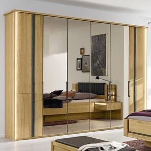 Musterring Kleiderschrank, Eiche, Holz 300 x 216 cm