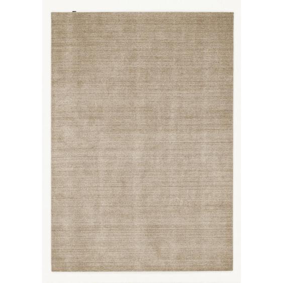Musterring Orientteppich 140/200 cm Beige , Textil , Uni , 140 cm