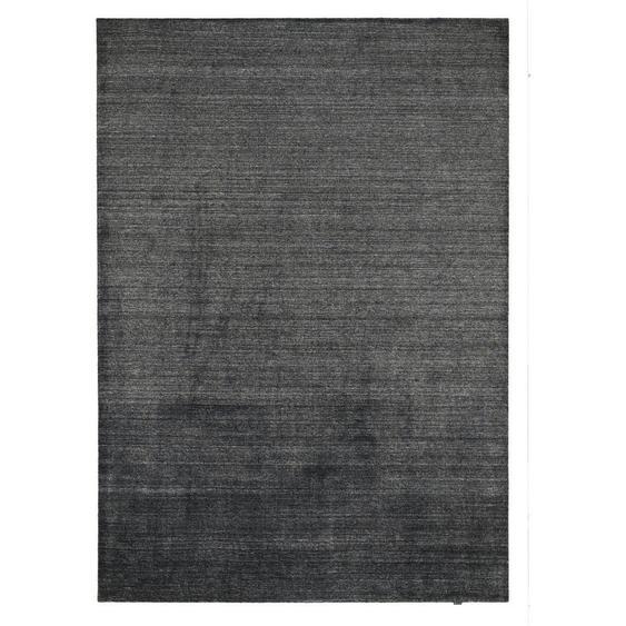 Musterring Orientteppich 200/300 cm Grau , Textil , Uni , 200 cm