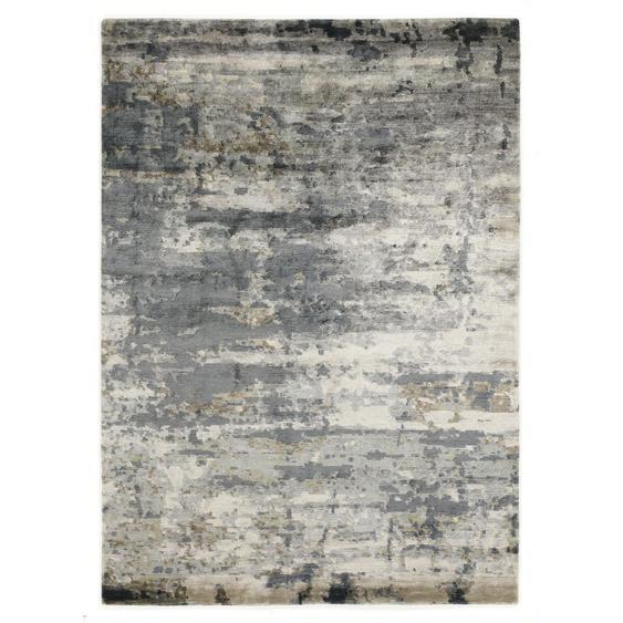Musterring Orientteppich 70/140 cm Blau , Textil , 70 cm