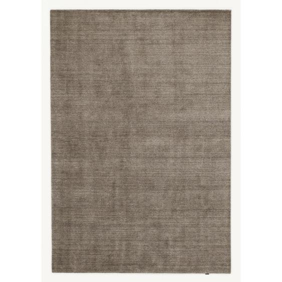 Musterring Orientteppich 70/140 cm Braun , Textil , Uni , 70 cm