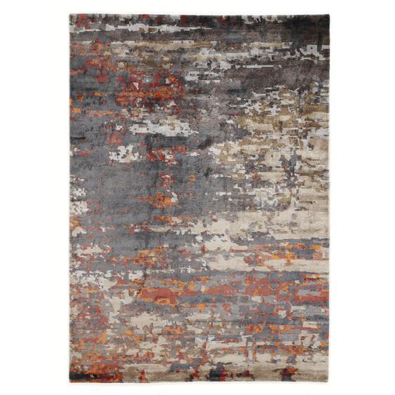 Musterring Orientteppich 70/140 cm Grau, Beige , Textil , 70 cm