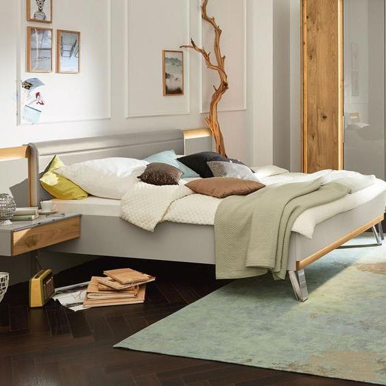 MUSTERRING Schlafzimmer Saphira 4-tlg. in Kieselgrau