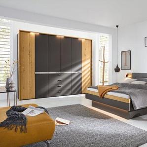 Musterring Schlafzimmer-Set, Grau, Lack